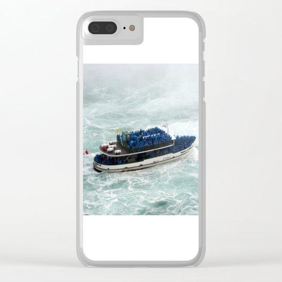 Landscape | Niagara Falls | Canada | All Aboard! Clear iPhone Case