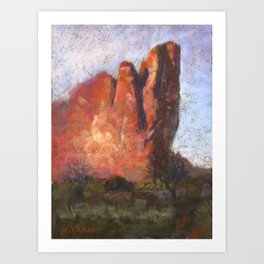 Tower of Babel, Garden of the Gods (full size) Art Print