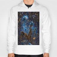 nebula Hoodies featuring Nebula by Saundra Myles