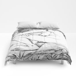 Sorrow (After Vincent Van Gogh)  Comforters