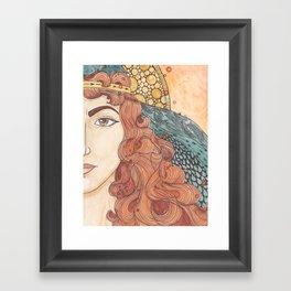 Deborah Framed Art Print