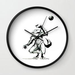 Full Moon Fear Wall Clock