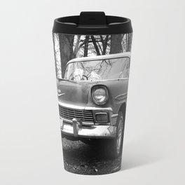 B/W Chevy Travel Mug