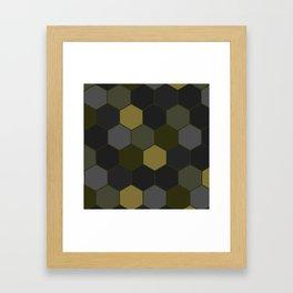 DARK HIVE Framed Art Print