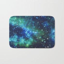 Underwater galaxy Bath Mat