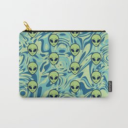 Melting Alien Carry-All Pouch