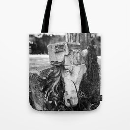 Through the gates & down the path to the horse's head Tote Bag