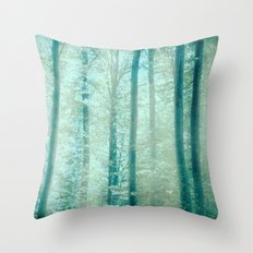 into the woods 15 Throw Pillow