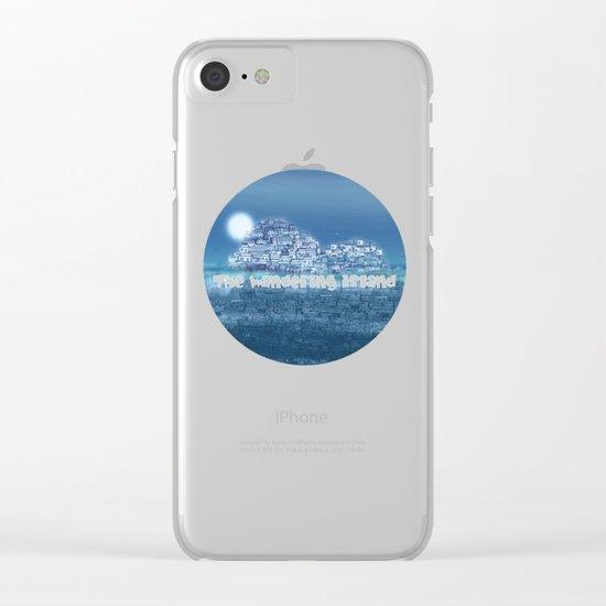 The Emerging Island II / San Borondon 2016 Clear iPhone Case