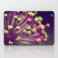 lime green iPad Cases featuring Purple and Lime Green by Amelia Kay Photography
