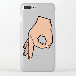 The Circle Game Clear iPhone Case