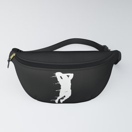 Basketball Basketball Player Silhouette Fanny Pack
