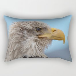 White Headed Eagle Portrait. Rectangular Pillow