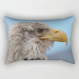 White Headed Eagle Portrait. Rectangular Pillow