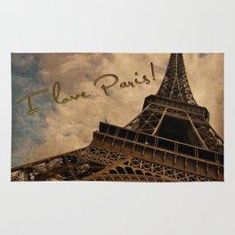 I Love Paris Rug