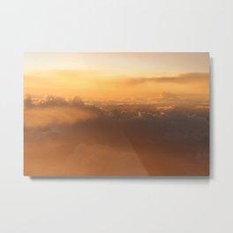 Cloud Mountains • V03 Metal Print