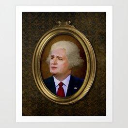 The New George Washington. Art Print