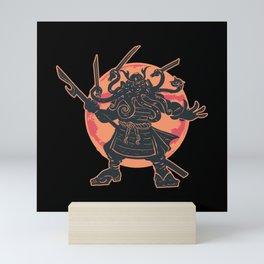 CTHULHU SAMURAI Mini Art Print