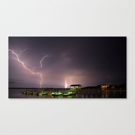 Florida Heat Storm Canvas Print