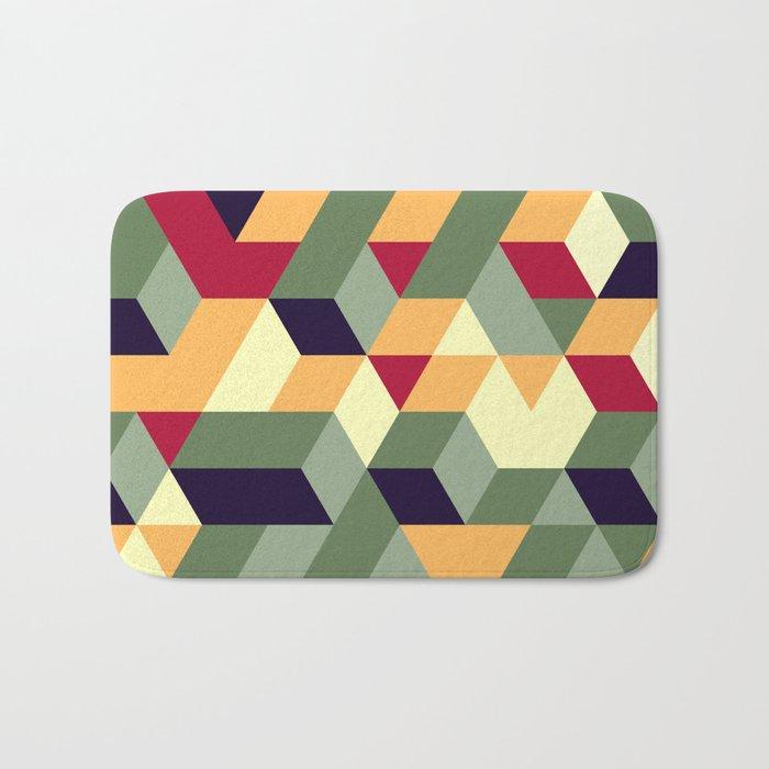 Cube way Bath Mat