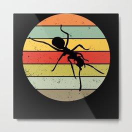 Ant Ants Keeping Breeding Ant Farm Retro Gift Metal Print