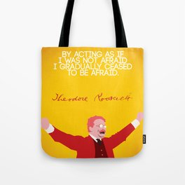 Theodore Roosevelt, Number 5 Tote Bag