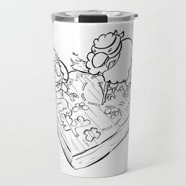 Ninja Strategy - ink Travel Mug