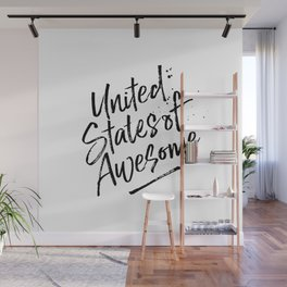 United State of Awesome Wall Mural