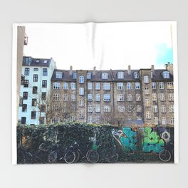 Homes, Vesterbro, Copenhagen Throw Blanket