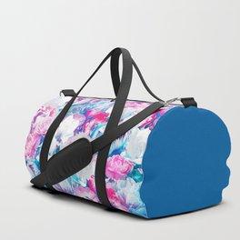 FLORAL GARDEN Peony & Magnolia Duffle Bag