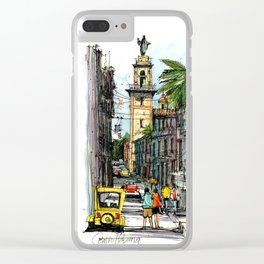 Central Havana Clear iPhone Case