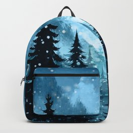 Winter Night Backpack