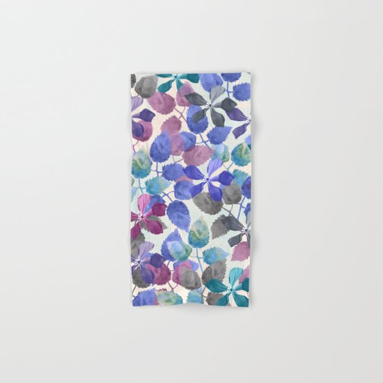 watercolor Botanical garden II Hand & Bath Towel