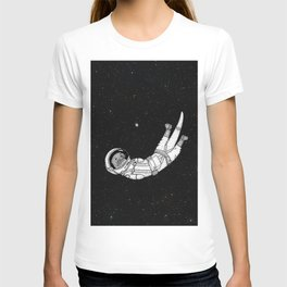 André Floating Around in Otter Space T-shirt