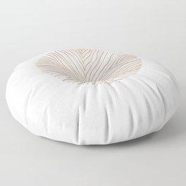 Brown Coral Floor Pillow