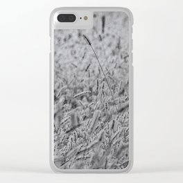 Hay farming Clear iPhone Case