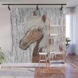 Haflinger Horse Wall Mural