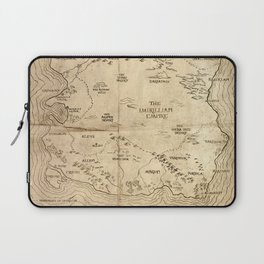 Map of Imirillia Laptop Sleeve