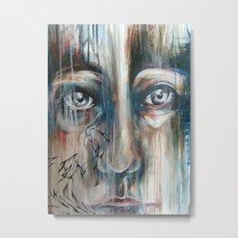 Flowing Image  Metal Print