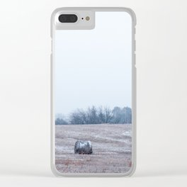 Winter Field Clear iPhone Case