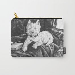 Literary Hound Carry-All Pouch