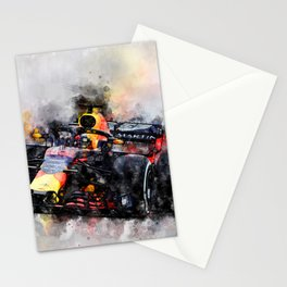 Max Verstappen Racing Stationery Cards