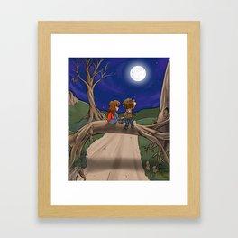 Under the Moon Framed Art Print