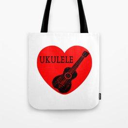 Ukulele Love Tote Bag