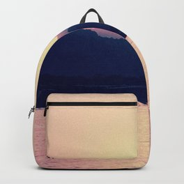 Romantic Pastel Pink Sunset #1 #art #society6 Backpack