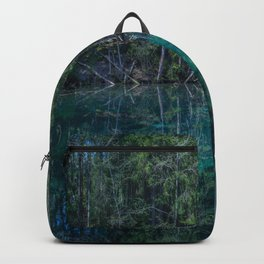 Magical Atmosphere By The Forest Source - Beautiful Reflection #decor #society6 #buyart Backpack