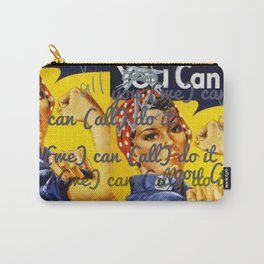 We Can All Do It Carry-All Pouch