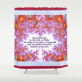 Sister Earth Shower Curtain