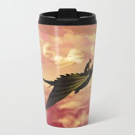 Flying - Hiccup and Toothless Travel Mug