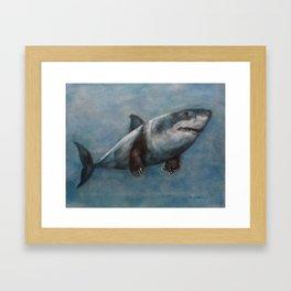 Jaws Claws Framed Art Print